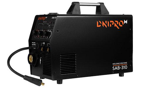 Характеристика товара «Полуавтомат инверторный IGBT MIG/MMA Dnipro-M SAB-310» - фото №1