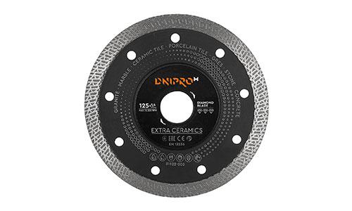Характеристика товара «Алмазный диск Dnipro-M 125 22.2 Extra-Ceramics» - фото №2