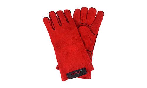 Характеристика товара «Перчатки сварщика Краги Dnipro-M Красные» - фото №2