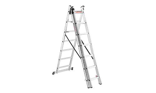 Характеристика товара «Лестница алюминиева универсальная Dnipro-M CL-307 484 см» - фото №1