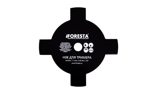 Характеристика товара «Нож для триммера Foresta 4Т 4» - фото №4