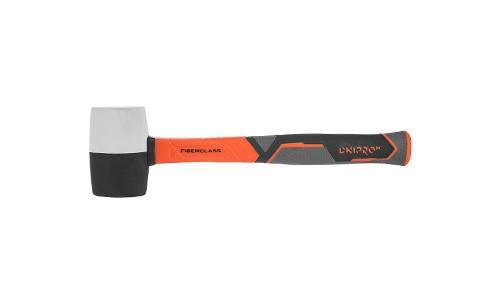 """Produkta raksturojums """"Gumijas āmurs ULTRA TPR 450 g melnbalts"""" - foto # 0"""