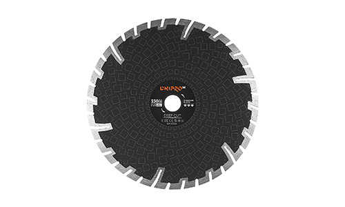 Характеристика товара «Алмазный диск Dnipro-M 230 22.2 Deep Cut» - фото №2