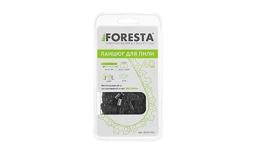 Характеристика товара «Цепь к бензопиле Foresta 64 зв., 40 см шаг 0,325