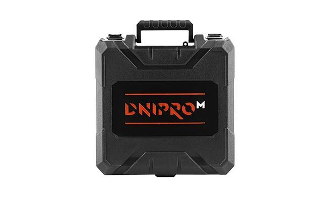 Характеристика товару «Кейс пластиковий до акумуляторного дриля-шуруповерта Dnipro-M CD-122Q, CD-12Q, CD-12C Compact 2021» - фото №9