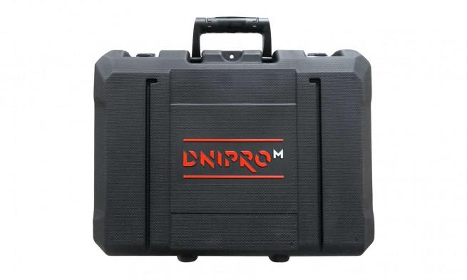 Характеристика товару «Кейс пластиковий до акумуляторного дриля-шуруповерта Dnipro-M» - фото №14