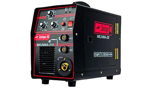 Характеристика товара «Полуавтомат инверторный MMA 210» - фото №1
