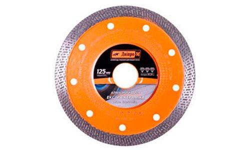 Характеристика товара «Алмазный диск Дніпро-М 125 22.2 Екстра-Керамика» - фото №1