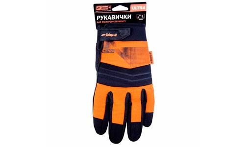 Характеристика товара «Перчатки для электроинструмента Дніпро-М Ultra L» - фото №1