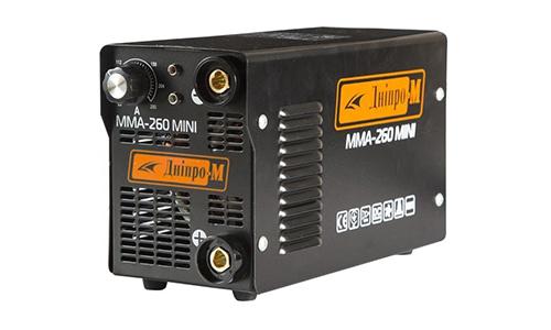 Характеристика товара «Сварочный аппарат IGBT Дніпро-М MINI 260» - фото №1