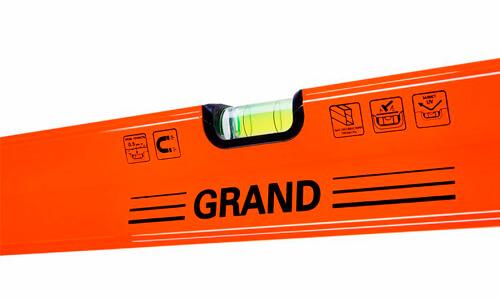 Характеристика товара «Уровень строительный Grand 800 мм» - фото №1