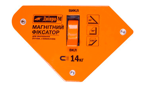 Характеристика товара «Магнитный угольник для сварки Дніпро-М МКВ-1013» - фото №5