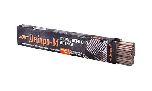 Характеристика товара «Электроды Дніпро-М 3 мм 2,5 кг» - фото №3