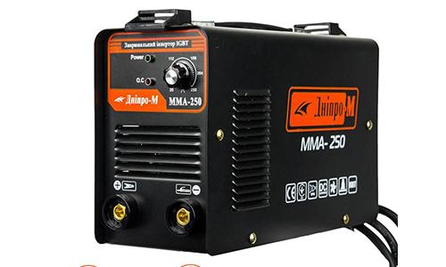 Характеристика товара «Сварочный аппарат IGBT Дніпро-М ММА-250В » - фото №1