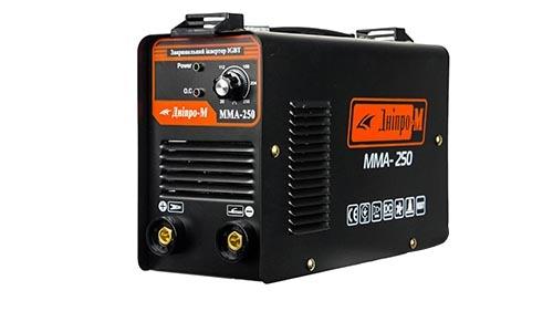 Характеристика товара «Сварочный аппарат IGBT Дніпро-М ММА-250» - фото №1