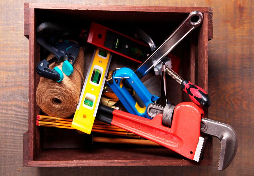 Ящики и органайзеры для инструментов