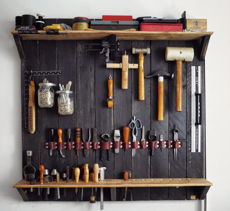 Хранение инструментов дома в квартире
