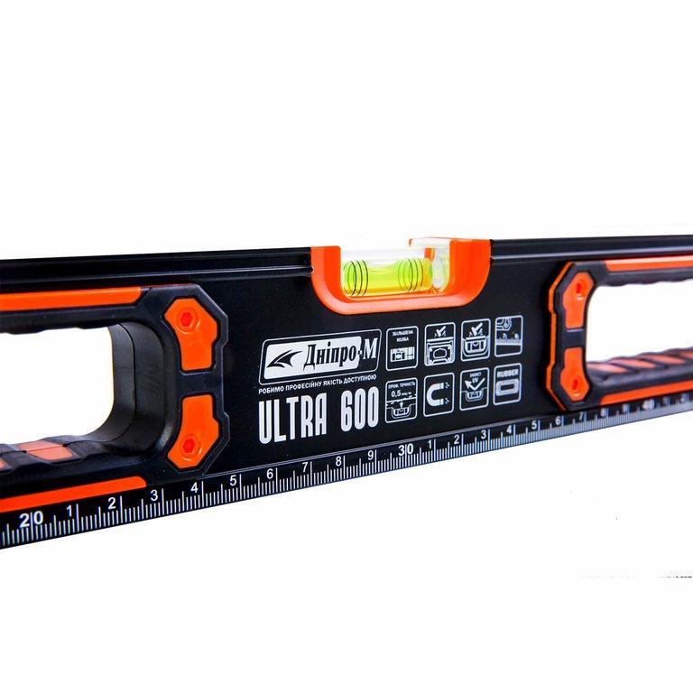 Уровень строительный Дніпро-М Ultra 600 мм