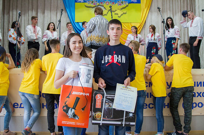 Dnipro-M наградил победителей