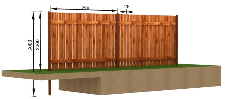 Особливості парканів з дерева