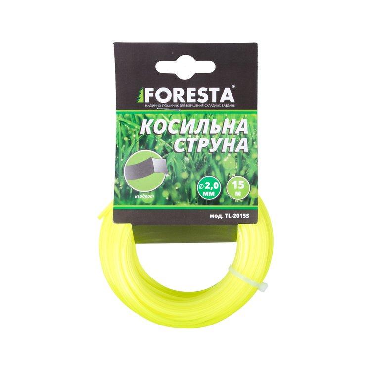 Леска для триммера Foresta квадрат 15 м 2.0 мм
