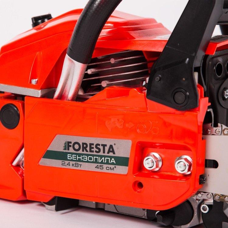 Бензопила цепная Foresta FA-45S + 2 масла фото №7