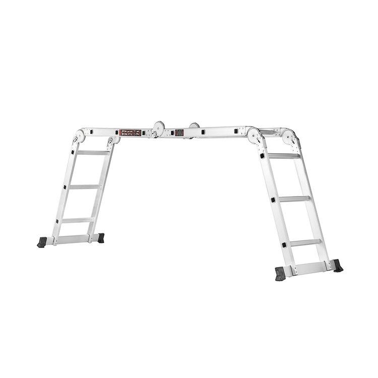 Лестница алюминиевая трансформер Dnipro-M MP-43 + Набор ключей рожково-накидных фото №9