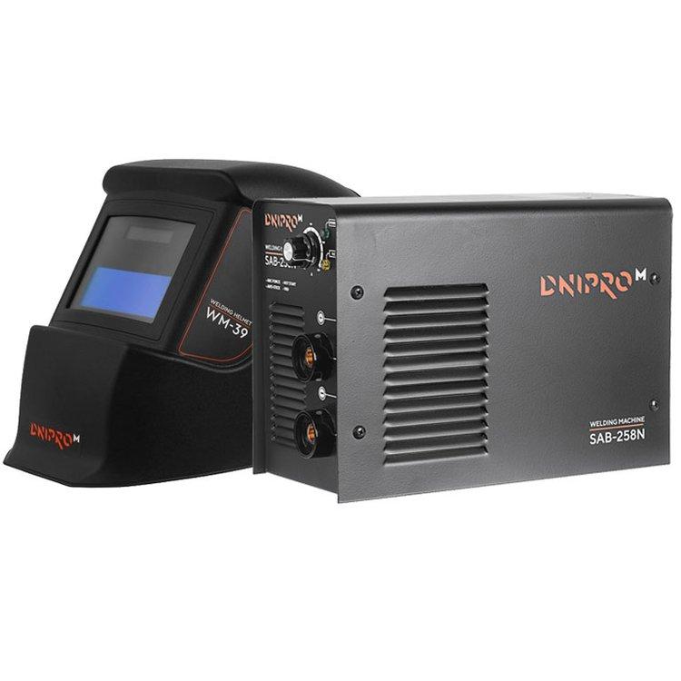 Сварочный аппарат IGBT Dnipro-M SAB-258N + Маска сварщика WM-39