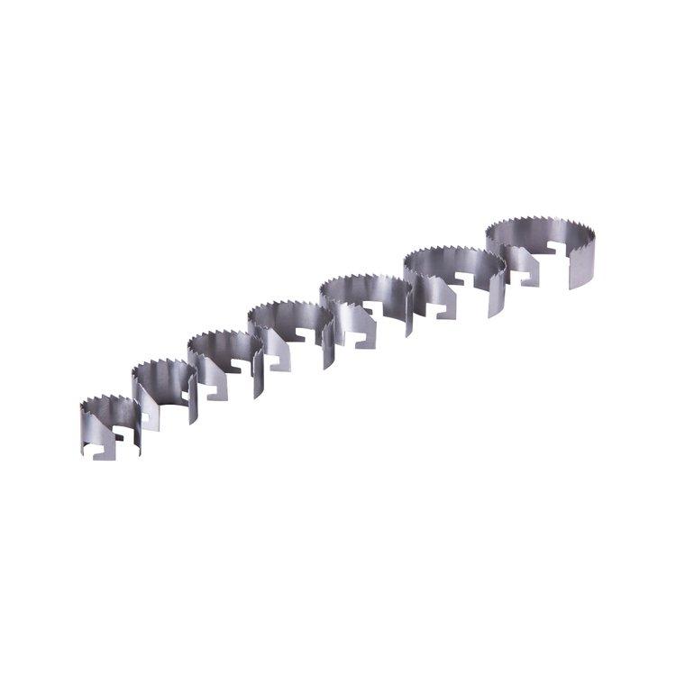 Набор кольцевых пил Дніпро-М (7 шт.) (26-63 мм, 25 мм) фото №4