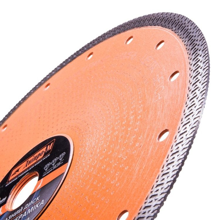 Алмазный диск 230 22,2, Екстра-Керамика + очки Comfort фото №2