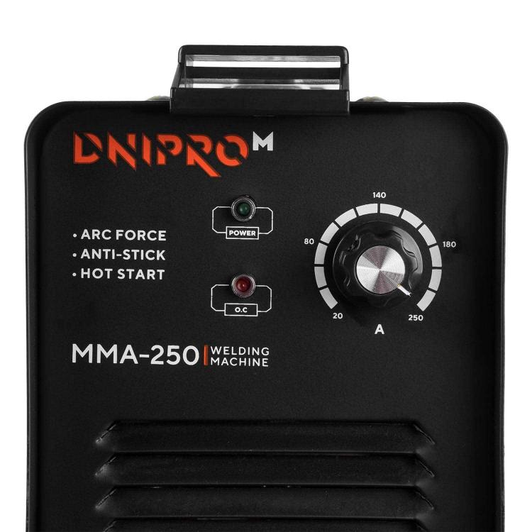 Зварювальний апарат IGBT Dnipro-M ММА-250 фото №7