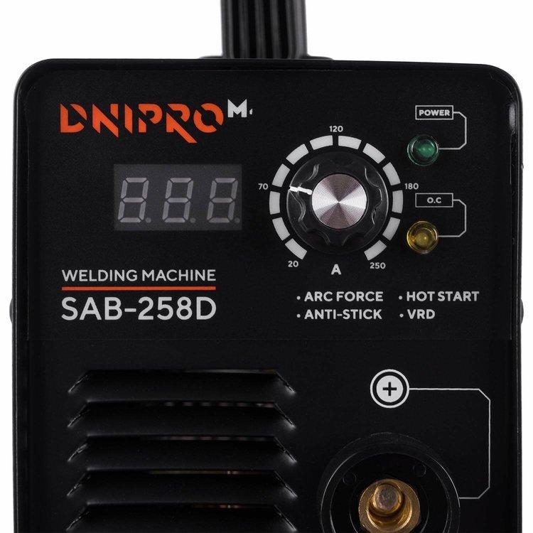 Сварочный аппарат IGBT Dnipro-M SAB-258D фото №4