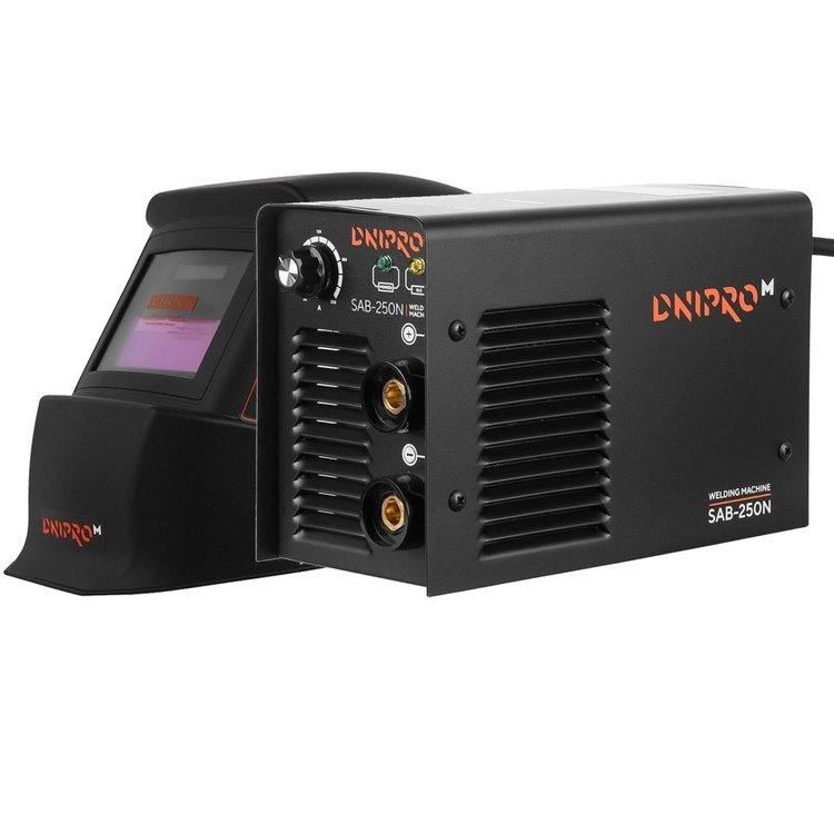 Сварочный аппарат Dnipro-M SAB-250N + Маска сварщика WM-31
