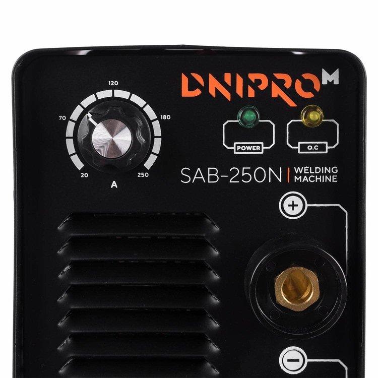 Сварочный аппарат Dnipro-M SAB-250N + Маска сварщика WM-31 фото №8