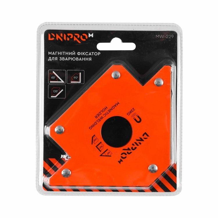 Магнитный угольник для сварки Dnipro-M MW-229