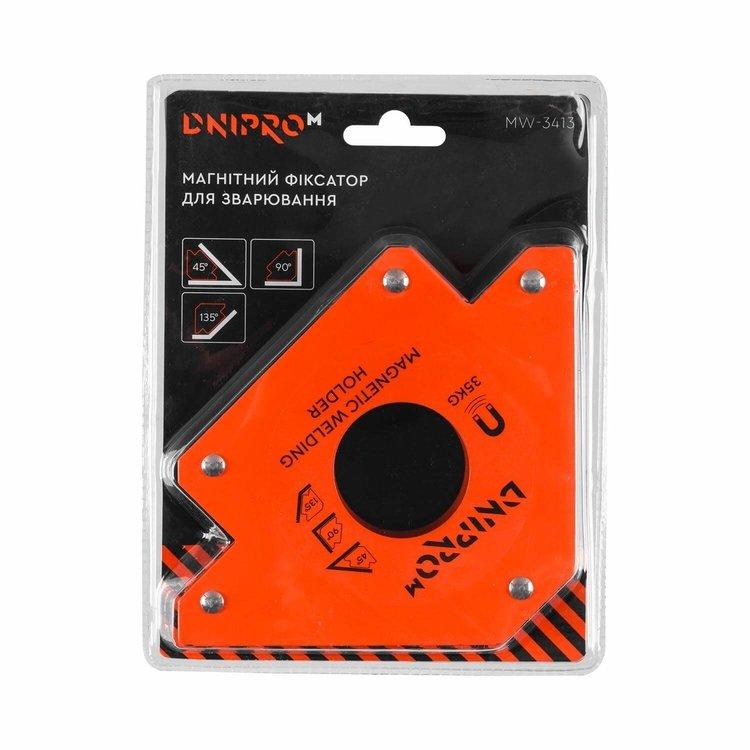 Магнитный угольник для сварки Dnipro-M MW-3413 фото №5