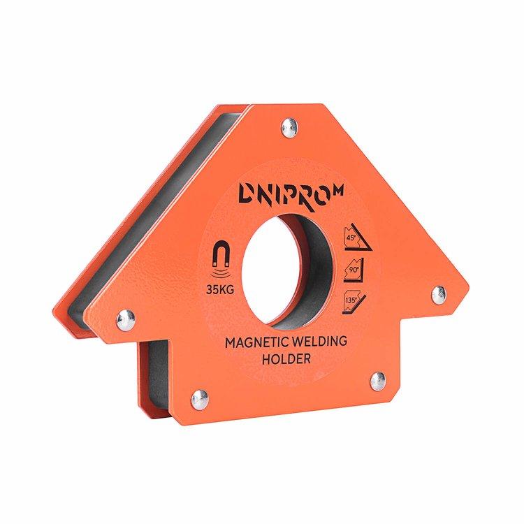 Магнитный угольник для сварки Dnipro-M MW-3413 фото №2