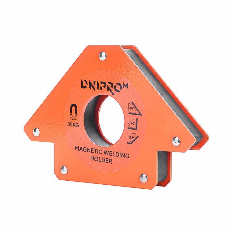 Магнитный угольник для сварки Dnipro-M MW-3413 фото №3