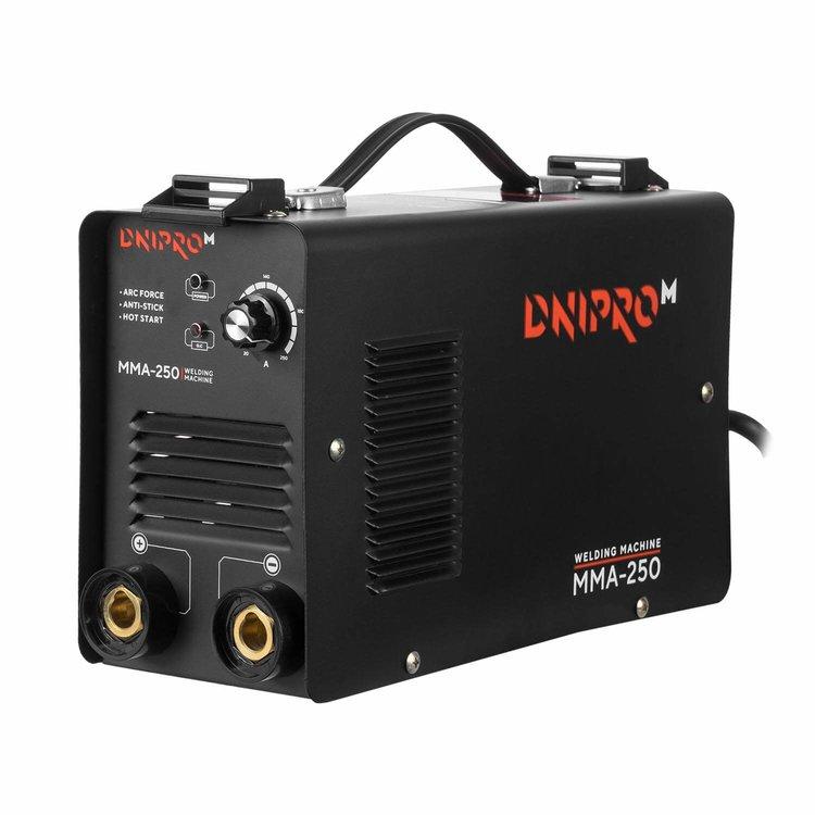 Сварочный аппарат IGBT Dnipro-M ММА-250 + Кейс для сварочных аппаратов фото №2
