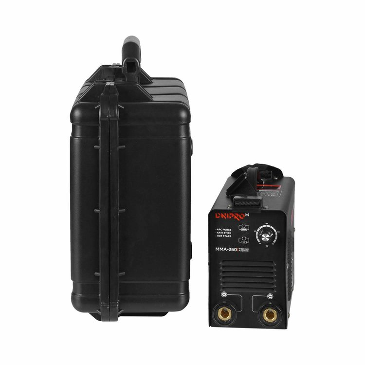 Сварочный аппарат IGBT Dnipro-M ММА-250 + Кейс для сварочных аппаратов фото №4