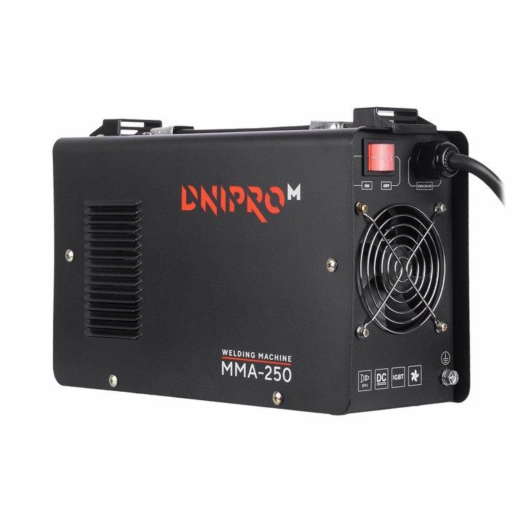 Сварочный аппарат IGBT Dnipro-M ММА-250 + Кейс для сварочных аппаратов фото №7