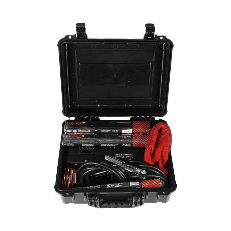 Сварочный аппарат IGBT Dnipro-M ММА-250 + Кейс для сварочных аппаратов фото №6