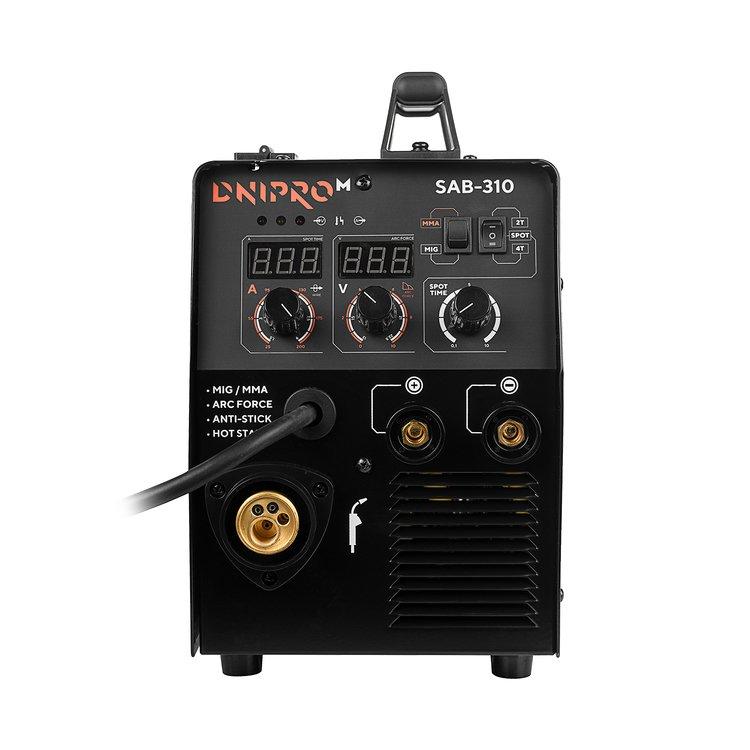 Полуавтомат инверторный IGBT Dnipro-M SAB-310 + Магнитная подставка для горелки TW-720 фото №6