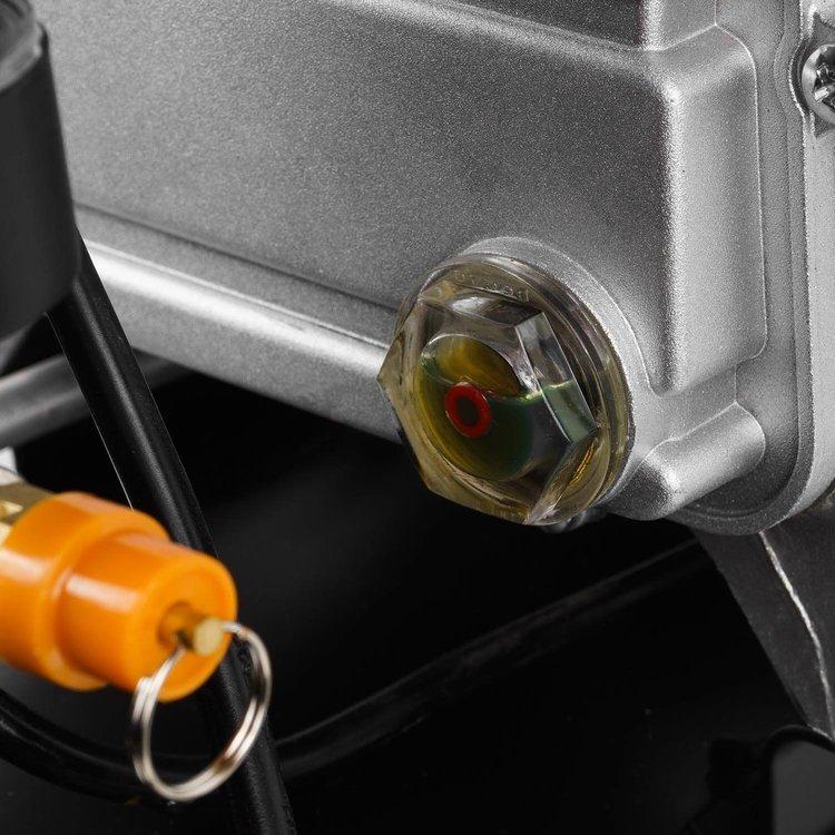Компрессор воздушный Dnipro-M AC-24 + Пистолет для накачивания колес IG-16 + Масло фото №9