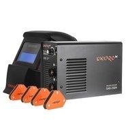 Сварочный аппарат IGBT Dnipro-M SAB-258N + Набор магнитных угольников + Маска