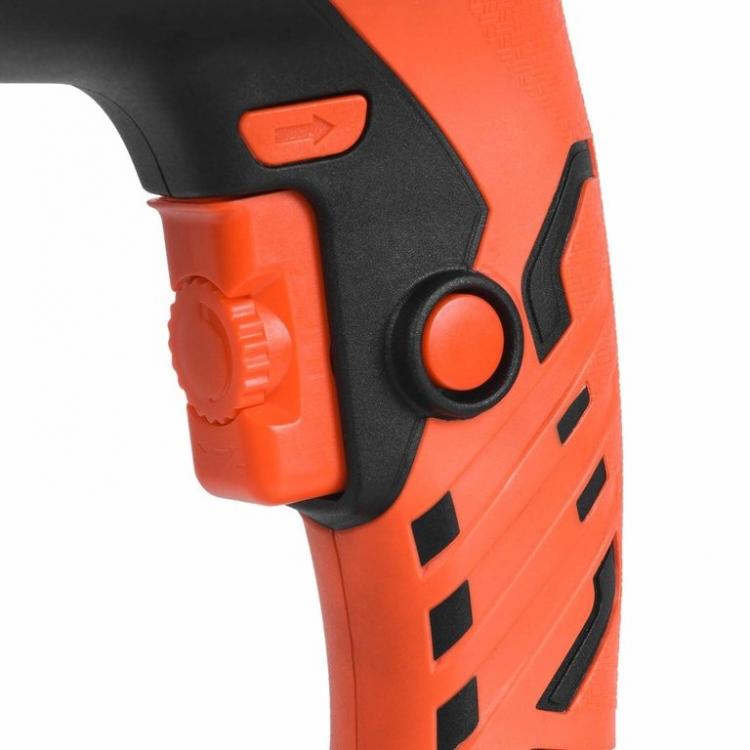 Дрель ударная Dnipro-M HD-120 + Нож сегментный + Перчатки фото №6