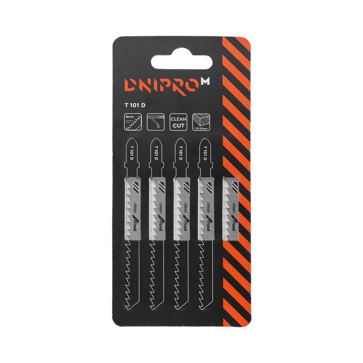 Пильное полотно для лобзика Dnipro-M Т101 D
