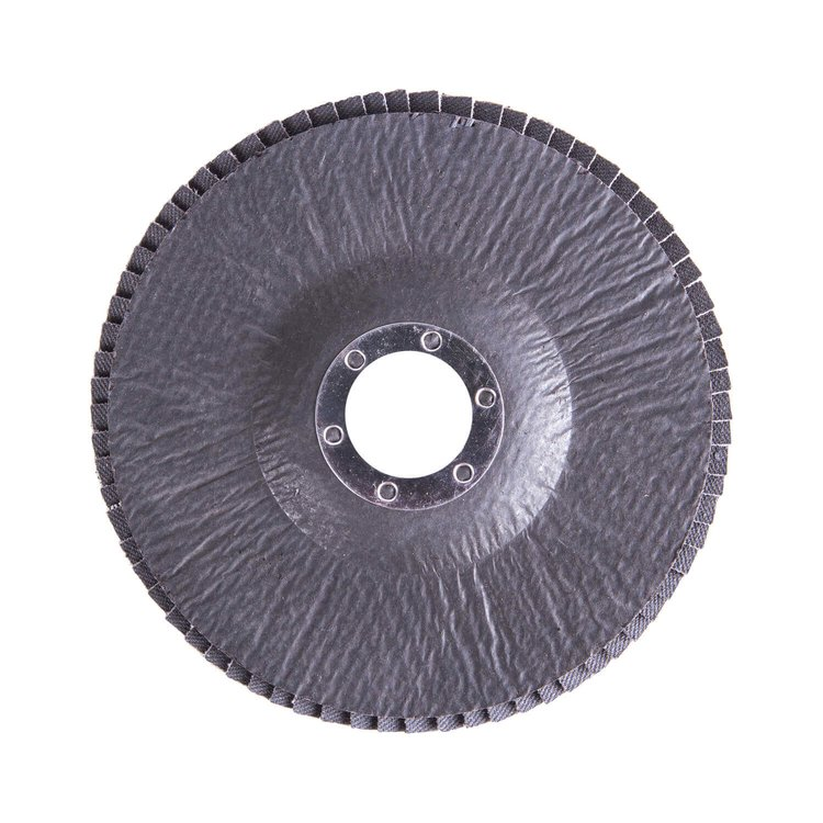 Круг лепестковый торцевой Дніпро-М Р120, 5 шт/уп фото №2