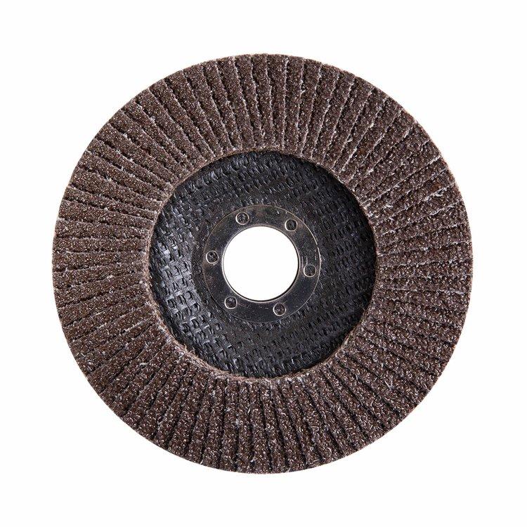 Круг лепестковый торцевой Дніпро-М Р40, 5 шт/уп фото №3