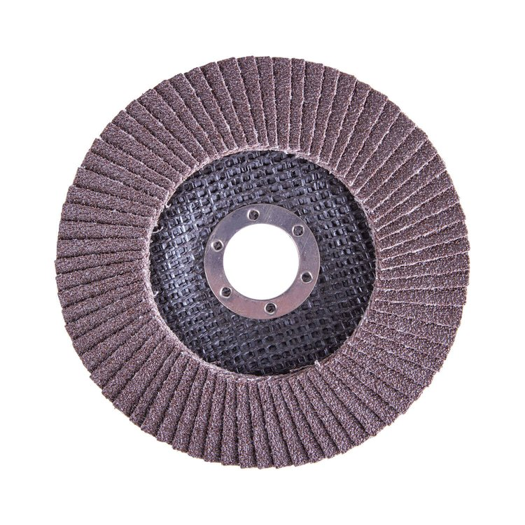 Круг лепестковый торцевой Дніпро-М Р80, 5 шт/уп фото №2